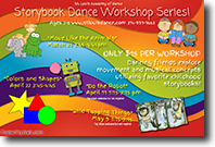 SLAD Storybook Dance Workshop